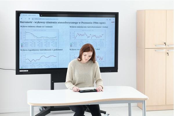 Wykorzystanie monitorów interaktywnych na lekcjach przyrody, geografii, chemii, fizyki