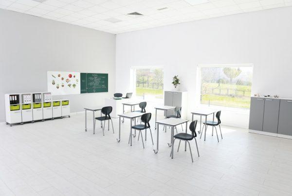 Mobilna sala szkolna do nauki każdego typu przedmiotu